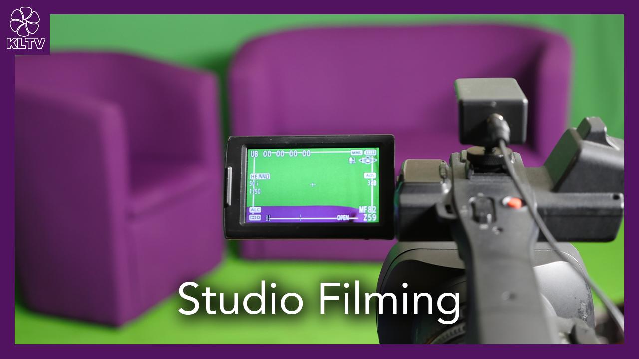 Studio Filming w/ KLTV