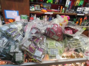 Legal Highs Haul by trading Standards
