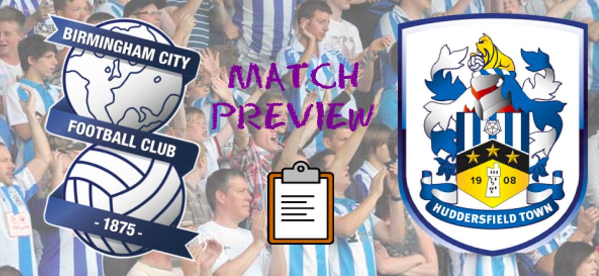 Match Preview | Birmingham City v Huddersfield Town