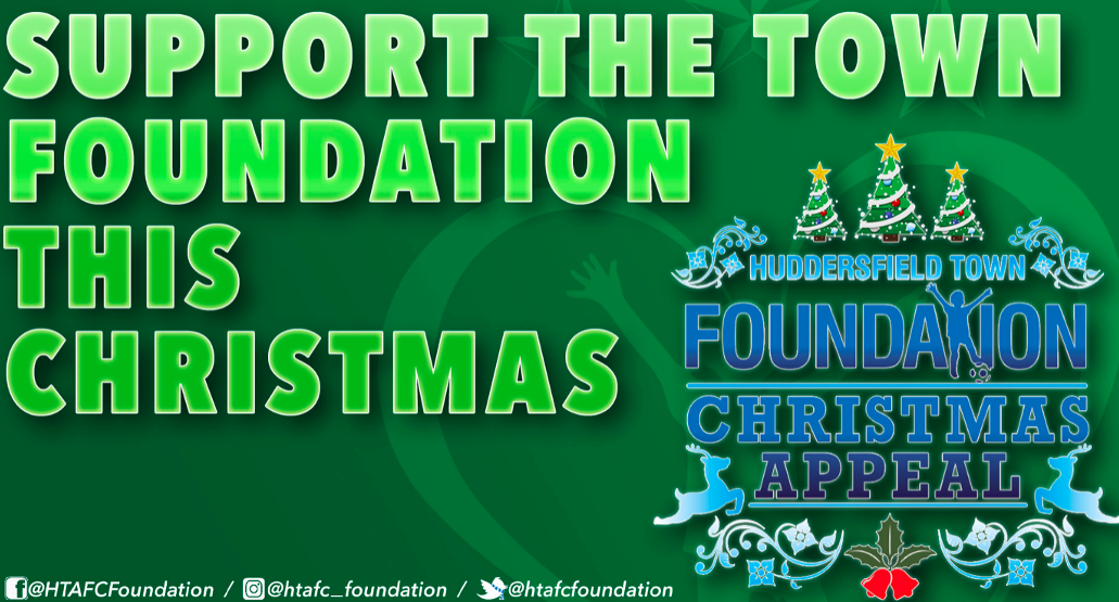Huddersfield Town Foundation Launches Christmas Fundraising Appeal