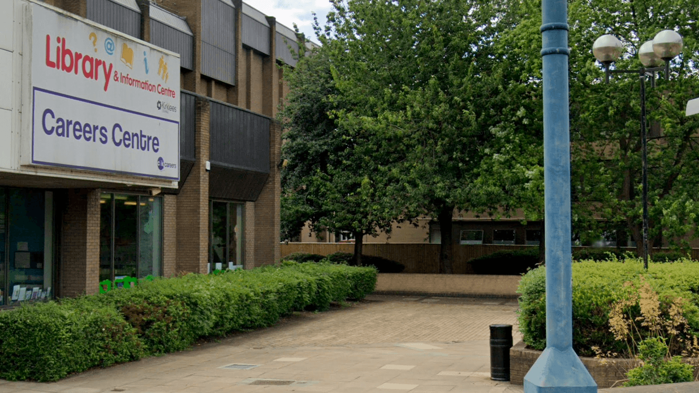 Blueprint improvement works to start outside Dewsbury Library
