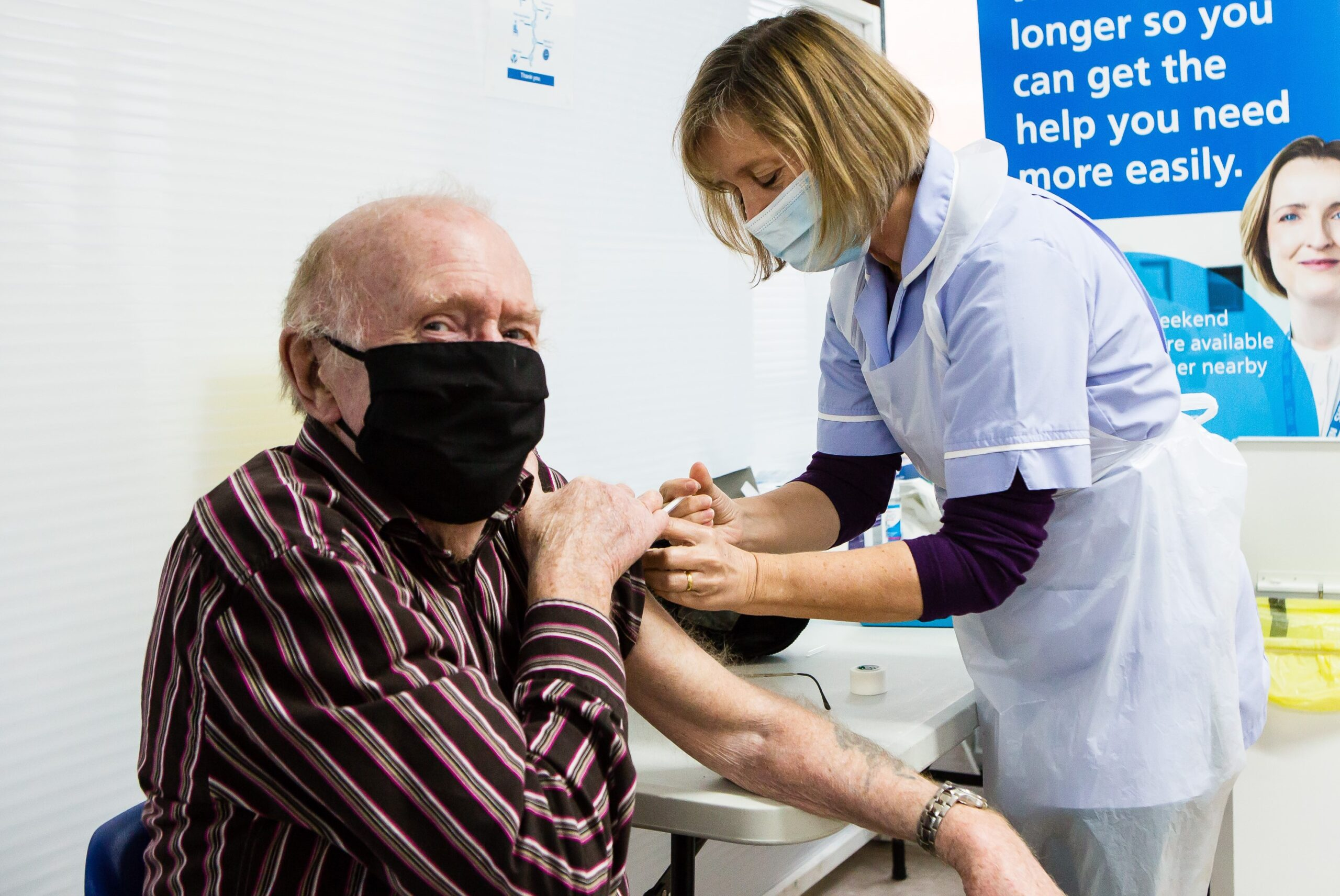 Next Phase of Vaccination Gets Underway as North Kirklees Patients Receive Second COVID-19 Jab