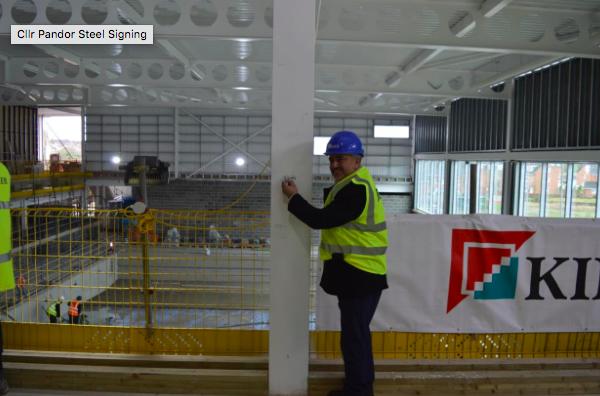 Brand New Spen Valley Leisure Centre Passes Construction Milestone