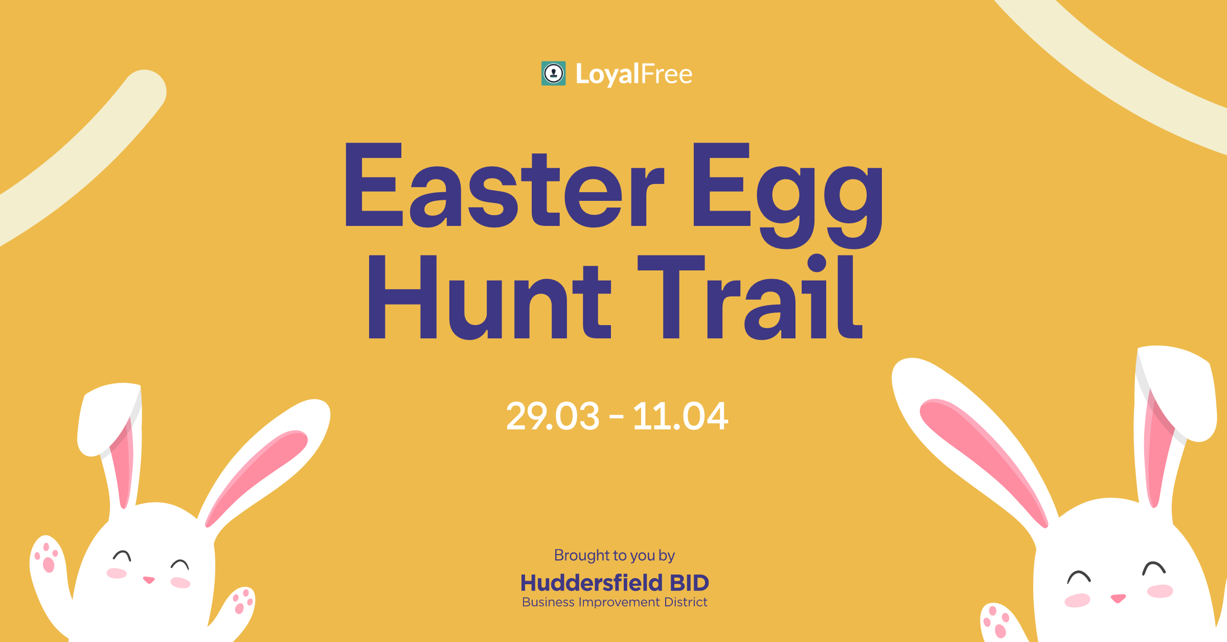 Brand new interactive Easter egg hunt set to launch next week in Huddersfield
