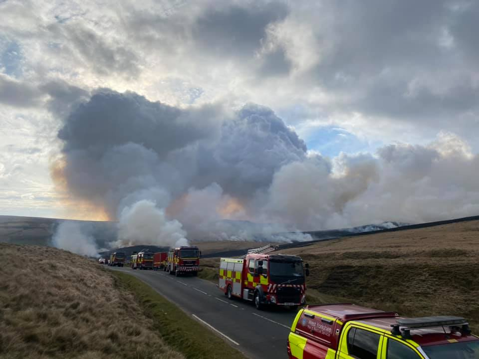 Marsden Moor Blaze Brought to a Close