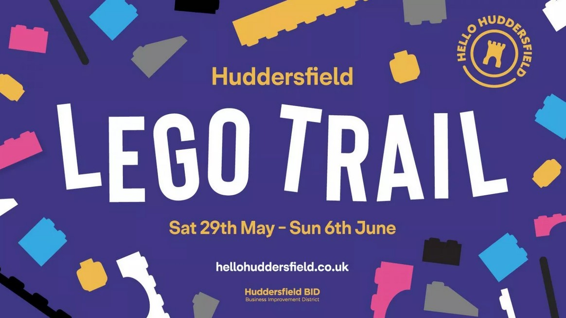 New interactive 'Lego Trail' planned for families in Huddersfield to enjoy this summer