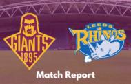 Huddersfield Giants v Leeds Rhinos | Super League Post-Match Report