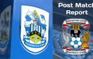 Huddersfield Town v Coventry City F.C. | Post-Match Report
