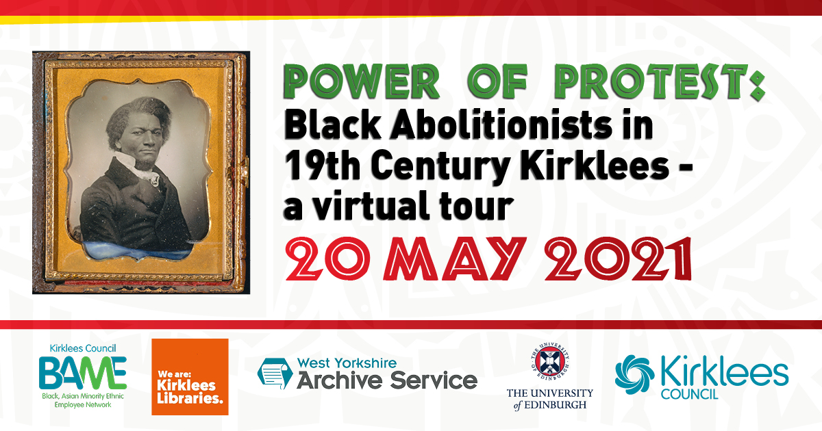 Virtual tour to trace black abolitionist history in Kirklees