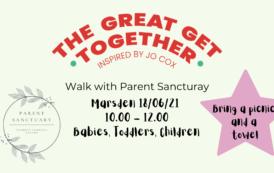 Join Parent Sanctuary's Child Friendly Walks This June