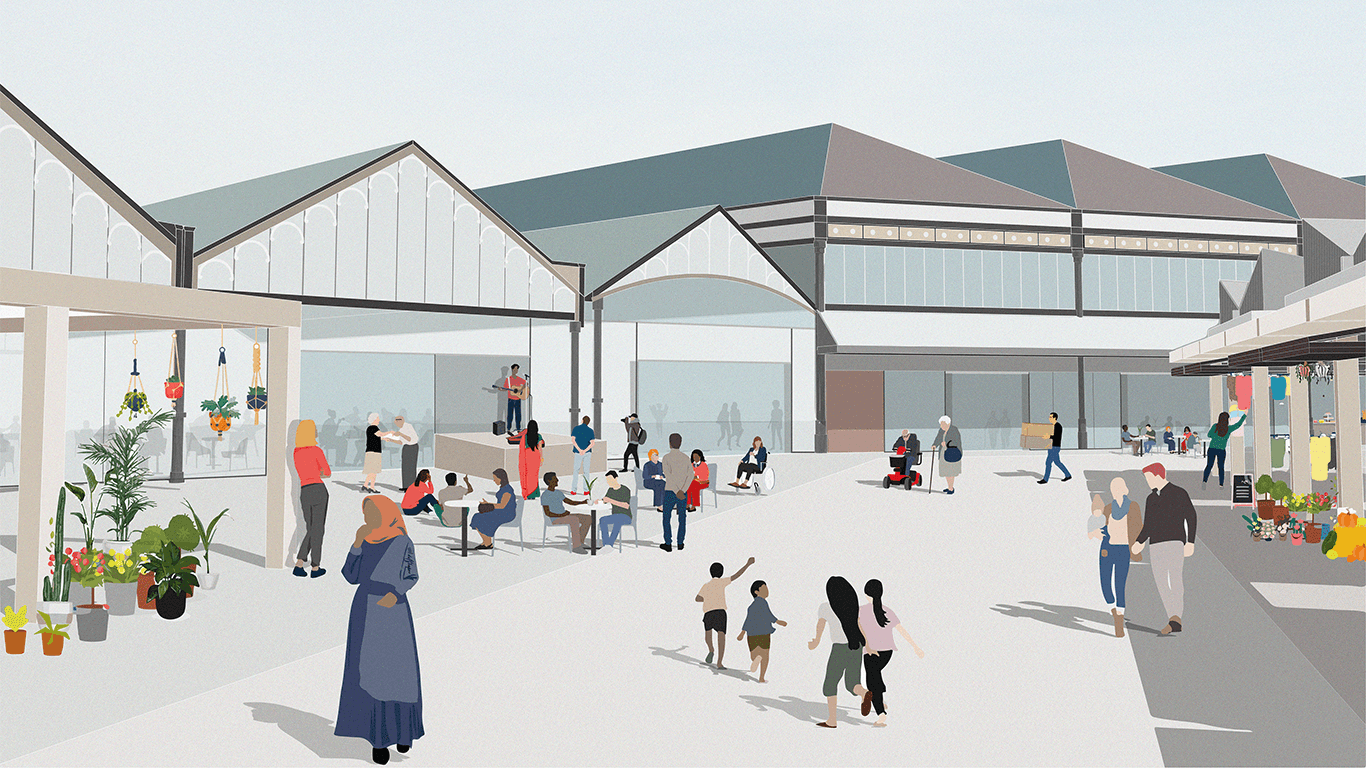 Have your say on the Dewsbury Market redevelopment plans