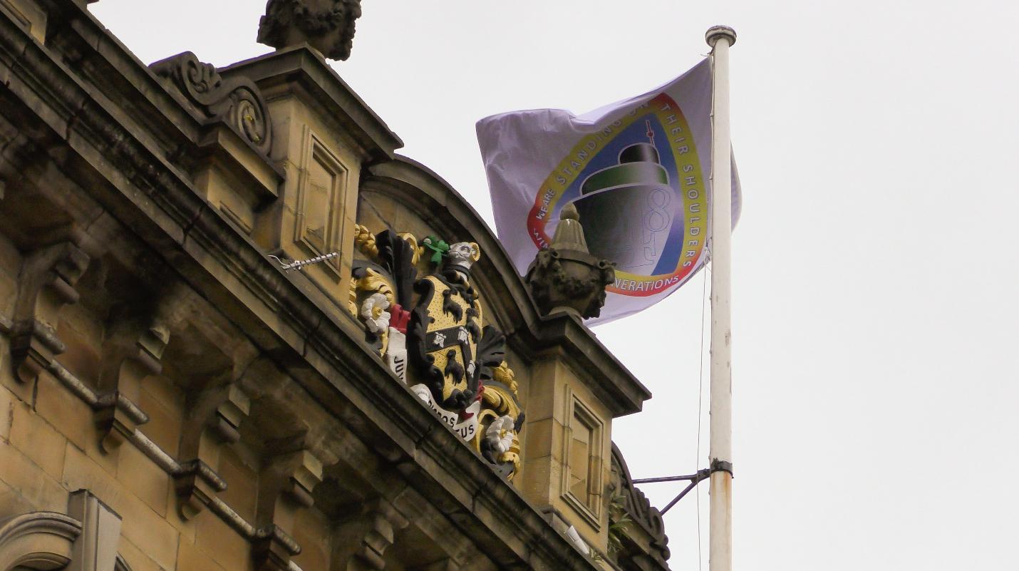 Town Halls Fly the Windrush Flag Across Kirklees