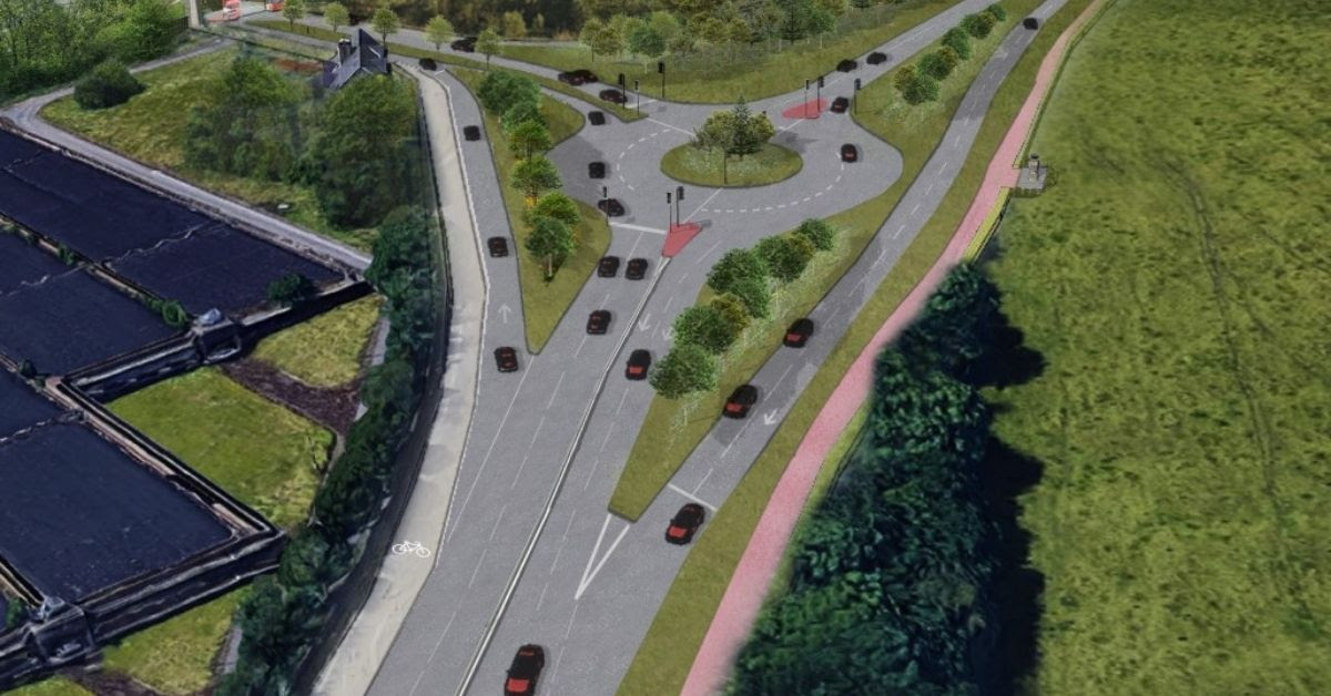 New Plans to Reduce Congestion in the Cooper Bridge Area between Huddersfield and Dewsbury