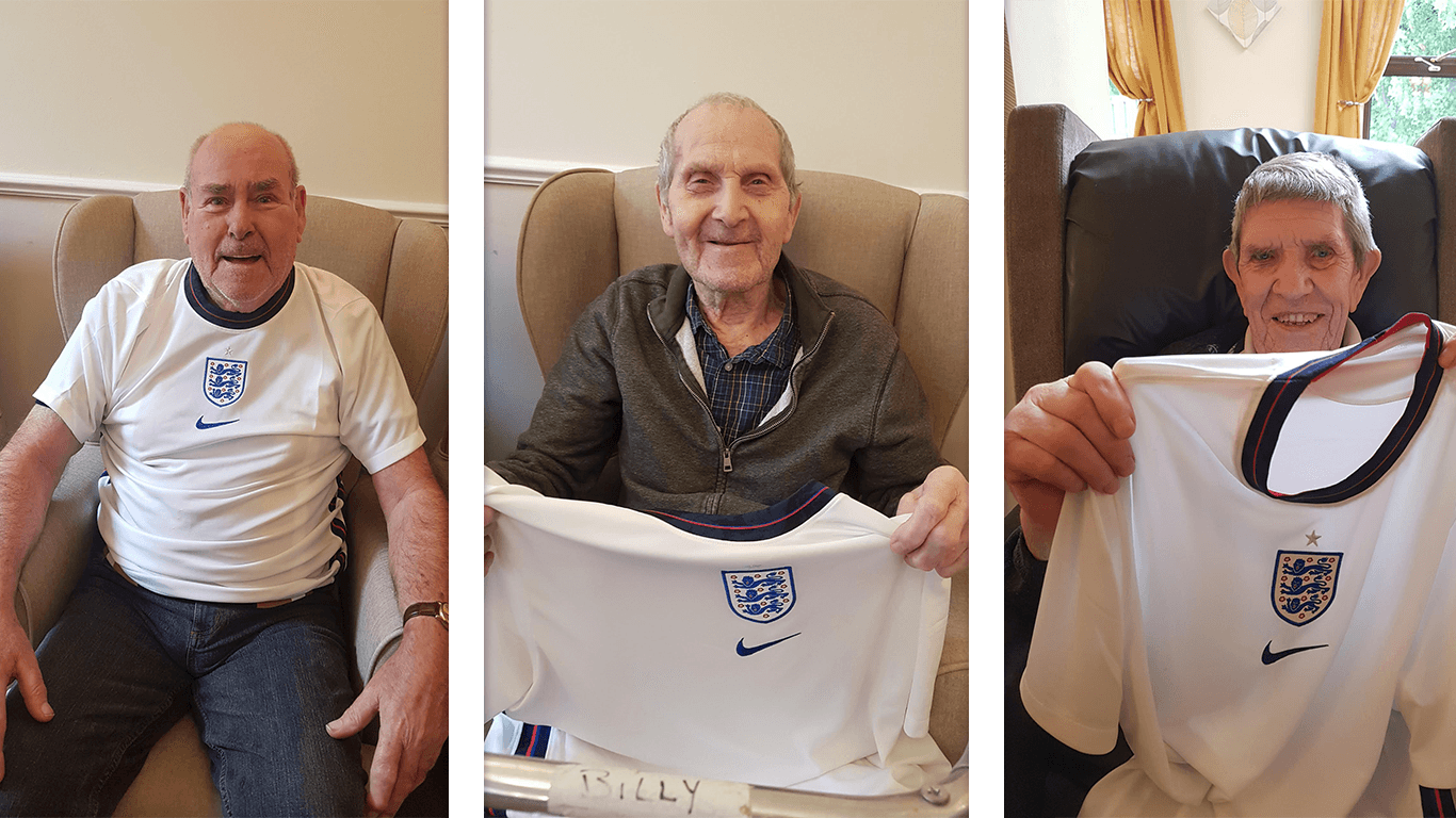 England's Euro 2021 campaign inspires Huddersfield care home residents