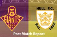 Huddersfield Giants v Hull FC | Super League Post-Match Report