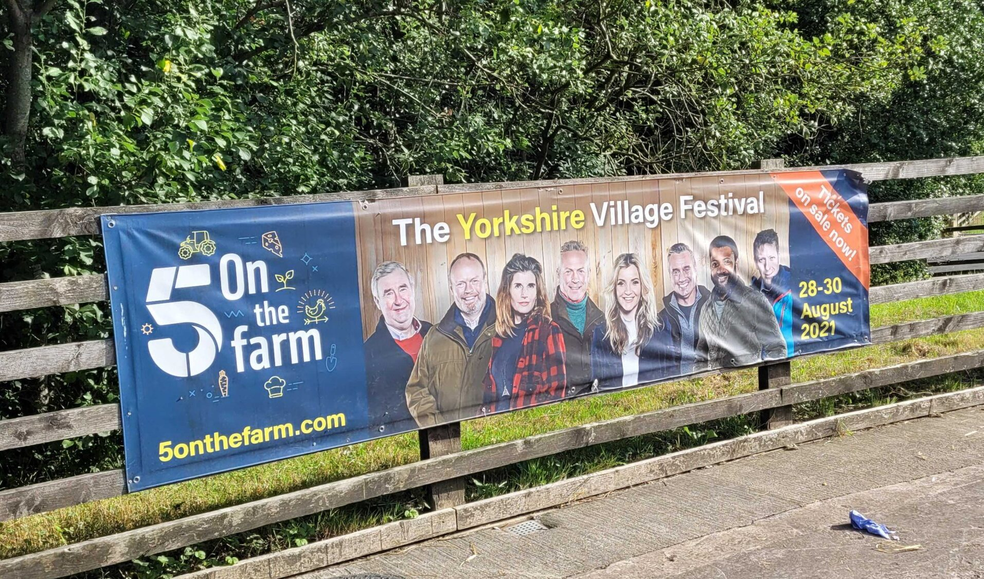 Cannon Hall Farm hosts first ever '5 on the Farm' this weekend