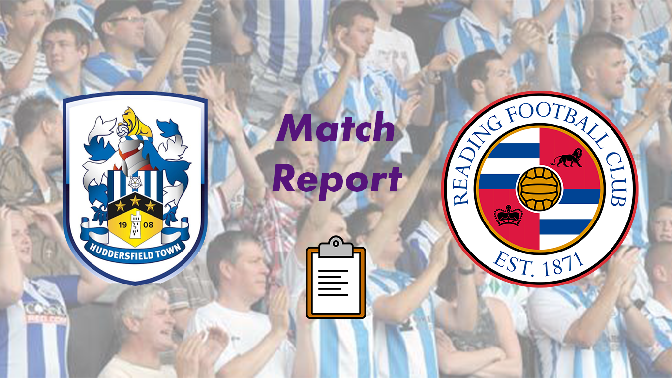 Huddersfield Town Match Report   FOUR GALORE as the Terriers run riot over the Royals