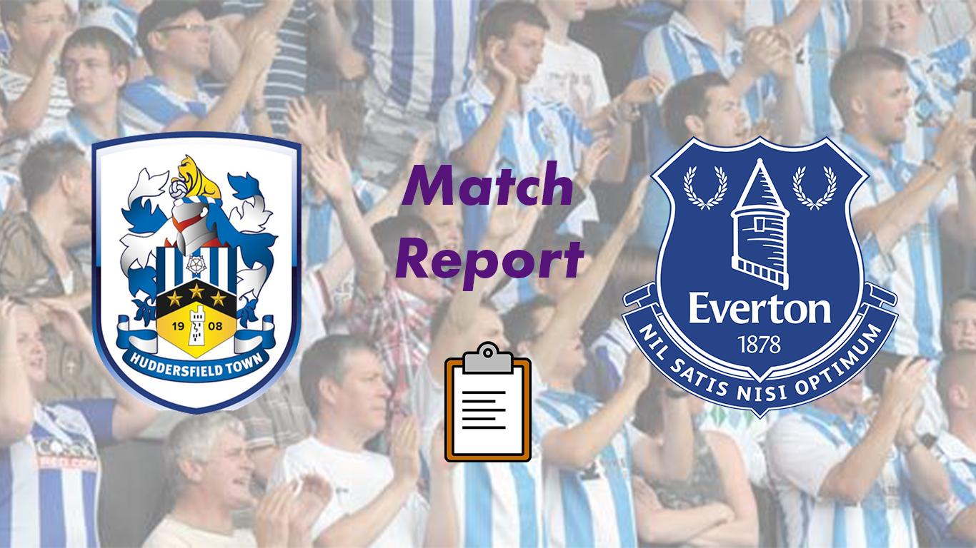 Huddersfield Town v Everton   Carabao Cup Match Report