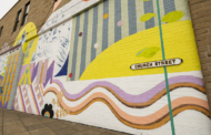 Dewsbury Creative Town initiative reveals giant 'Urban Rewild' mural